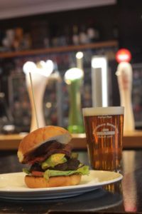 Bistro burger and beer