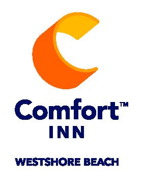Comfort Inn Westshore Beach Inn l logo blue